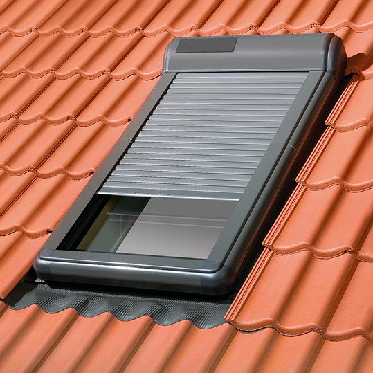 Fakro ARZ Solar rolluik zonne-energie