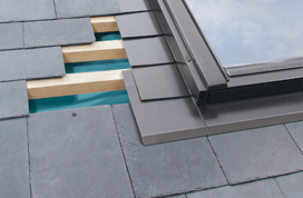 Standaard ELV-P gootstuk leien dak
