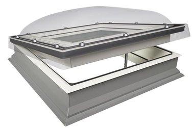 Fakro lichtkoepel handmatige uitvoering, 100x100 cm